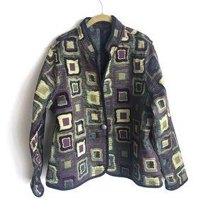 MIA REIS Reversible Artisan Jacket
